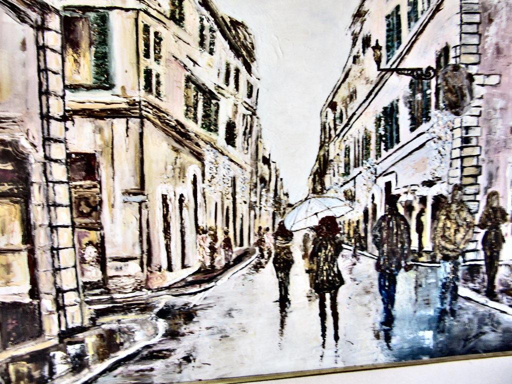 Via Dei Condotti - Anteprima: Rivelismo Italiano di Yvonne Gandini