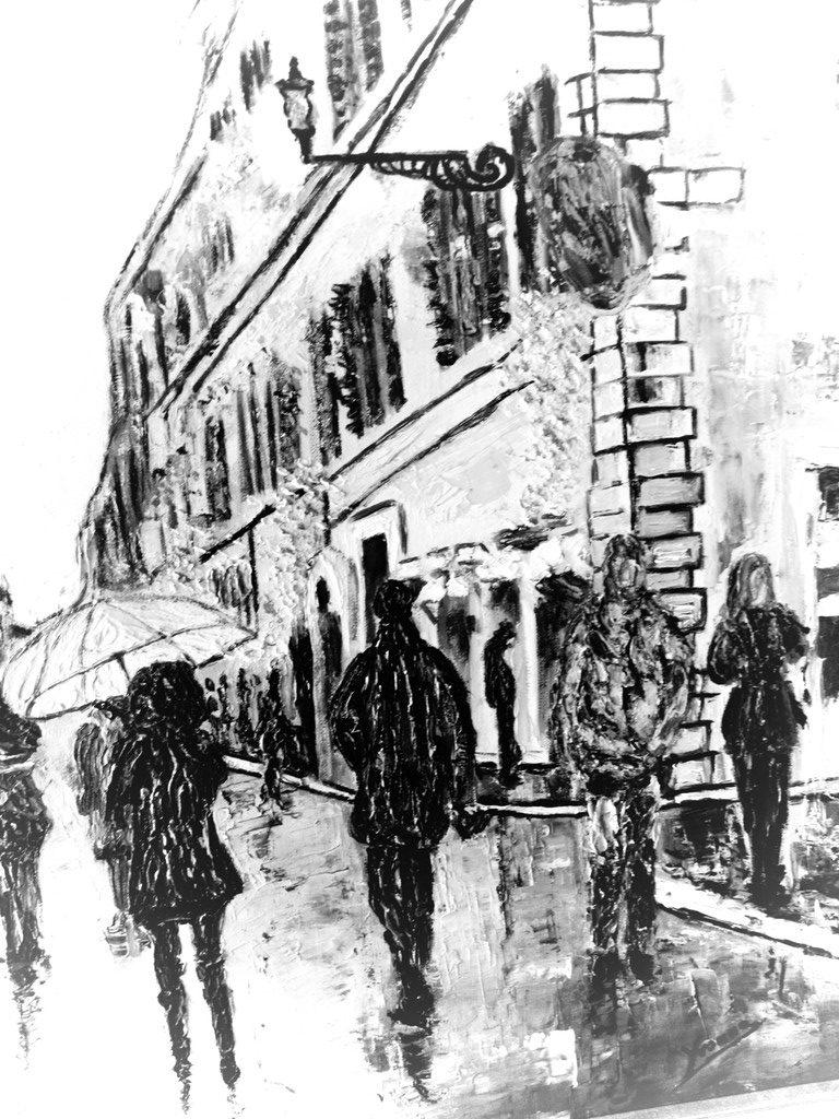 Via Dei Condotti Dettaglio - Rivelismo Italiano di Yvonne Gandini