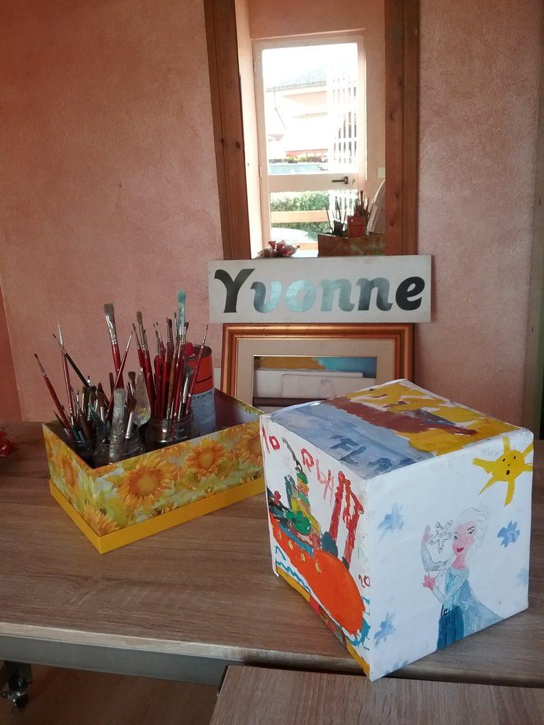 Corsi di pittura per Bambini ad Anzio con Yvonne Gandini